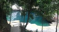 Danau Biru Kolaka dari atas