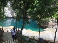 Danau Biru Kolalka terlihat asri