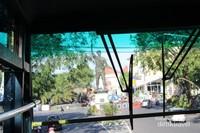 Pemandangan dari bus bagian atas