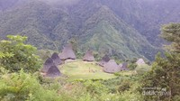 Desa Wae Rebo atau dikenal dengan desa di atas awan, sungguh indah