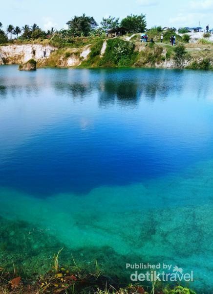 Danau Cisoka yang instagenik