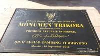 Monumen Trikora diresmikan pada masa pemerintahan SBY tahun 2012