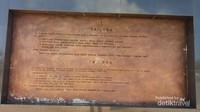 Ornamen Tulisan yang berada di Monumen Trikora