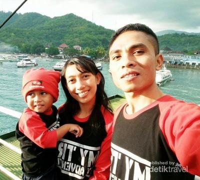 Begini Asyiknya Naik Kapal ke Lombok