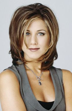 foto transformasi rambut jennifer aniston gaya shaggy. Black Bedroom Furniture Sets. Home Design Ideas
