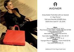 Aigner 4 Day Promo