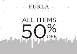 FURLA Midnight Sale, All Item 50% Off
