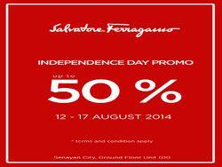 Salvatore Ferragamo Independence Day Promo