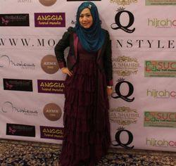 Lulusan Dokter Gigi, Anggiasari Sering Diremehkan Saat Jadi Desainer Hijab