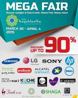 Mega Fair Discount Up To 90%