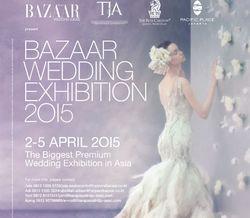 Bazaar Wedding Exhibition 2015