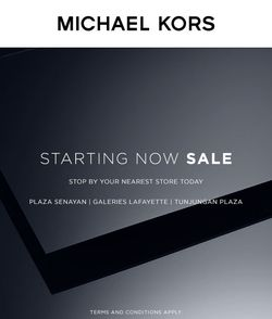 Michael Kors End of Season Sale Up to 60%