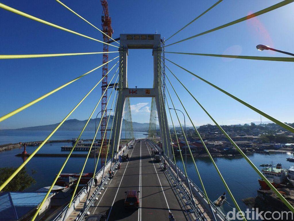 Landmark Baru Nan Keren dari Manado: Jembatan Soekarno