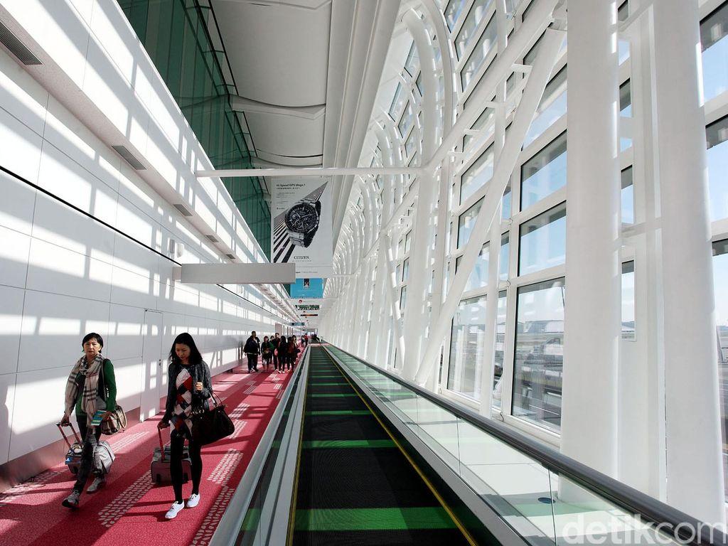 Kinclong! Bandara Paling Bersih Sedunia Ada di Jepang