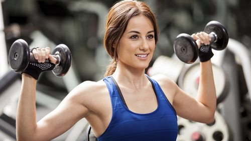 Manfaat Wanita Jalani Latihan Beban
