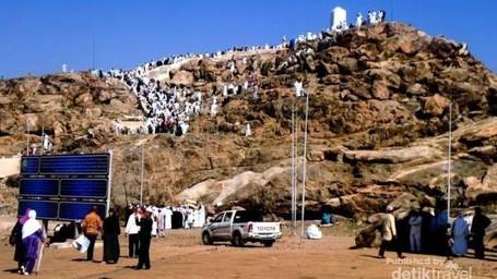 Kisah Cinta Abadi Di Jabal Rahmah