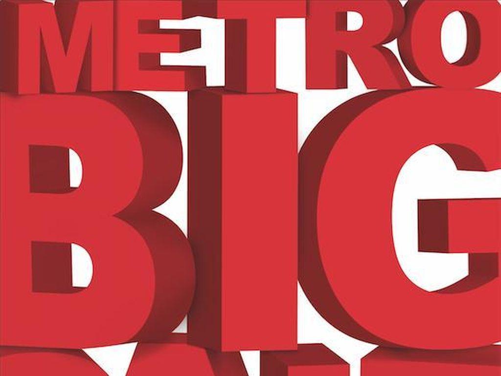 Metro Big Sale DIskon Hingga 70%