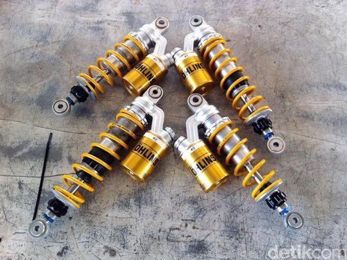 Trik Menyetel Suspensi Motor Ohlins