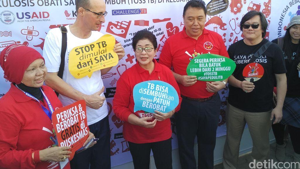 Ramainya Peringatan Hari TB Sedunia di Rusun Marunda