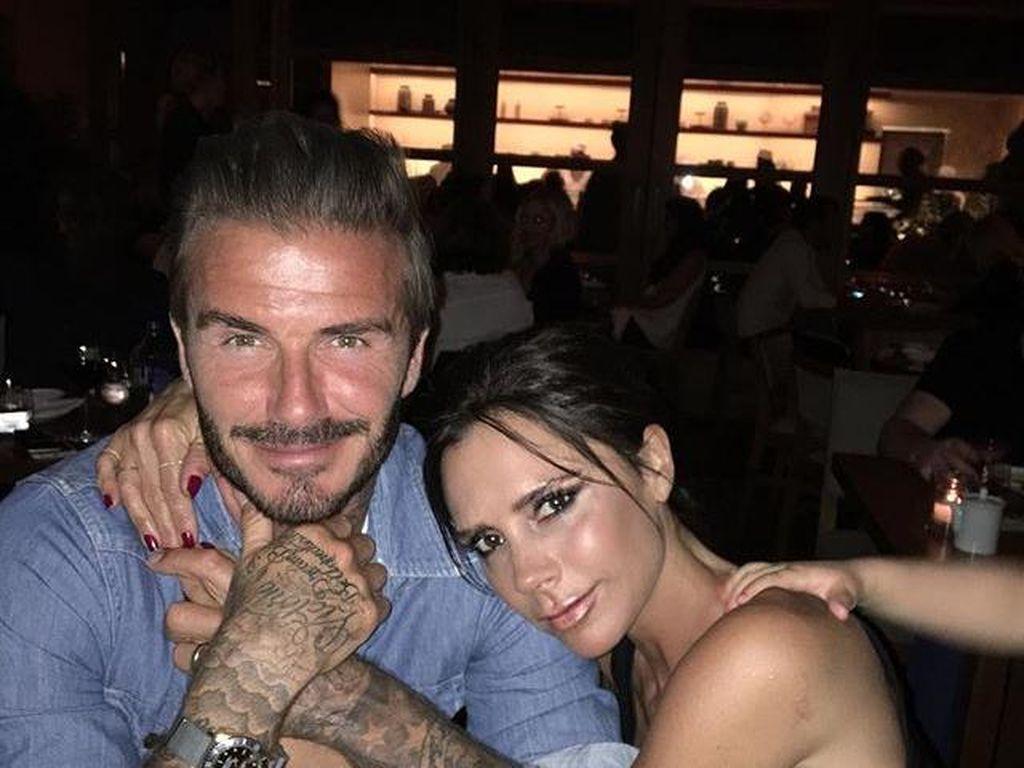 Rahasia Pernikahan Bahagia David dan Victoria Beckham