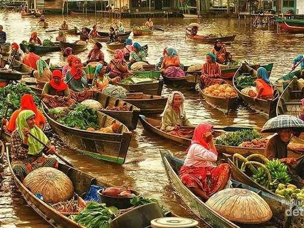Yuk, Bertualang ke Kota Seribu Sungai di Kalimantan