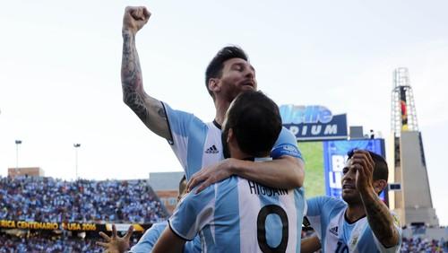 """Bandar Bola - Gol Dan Assist Messi Bantu Argentina Kalahkan Venezuela"""