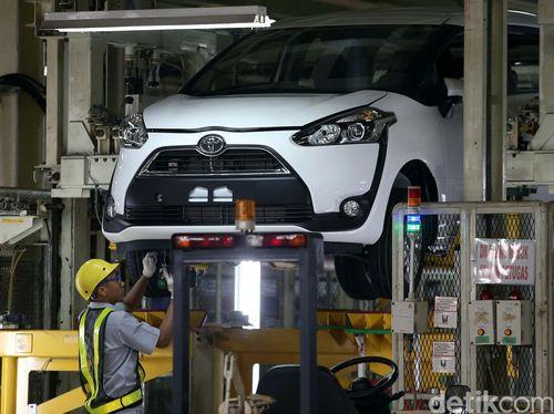 Pabrik Sienta di Jepang Sama Seperti di Indonesia