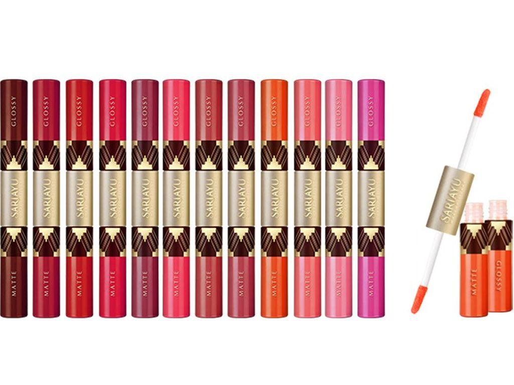 Editors Choice: 6 Warna Lipstik untuk Hang Out Hingga ke Pesta dari Sariayu