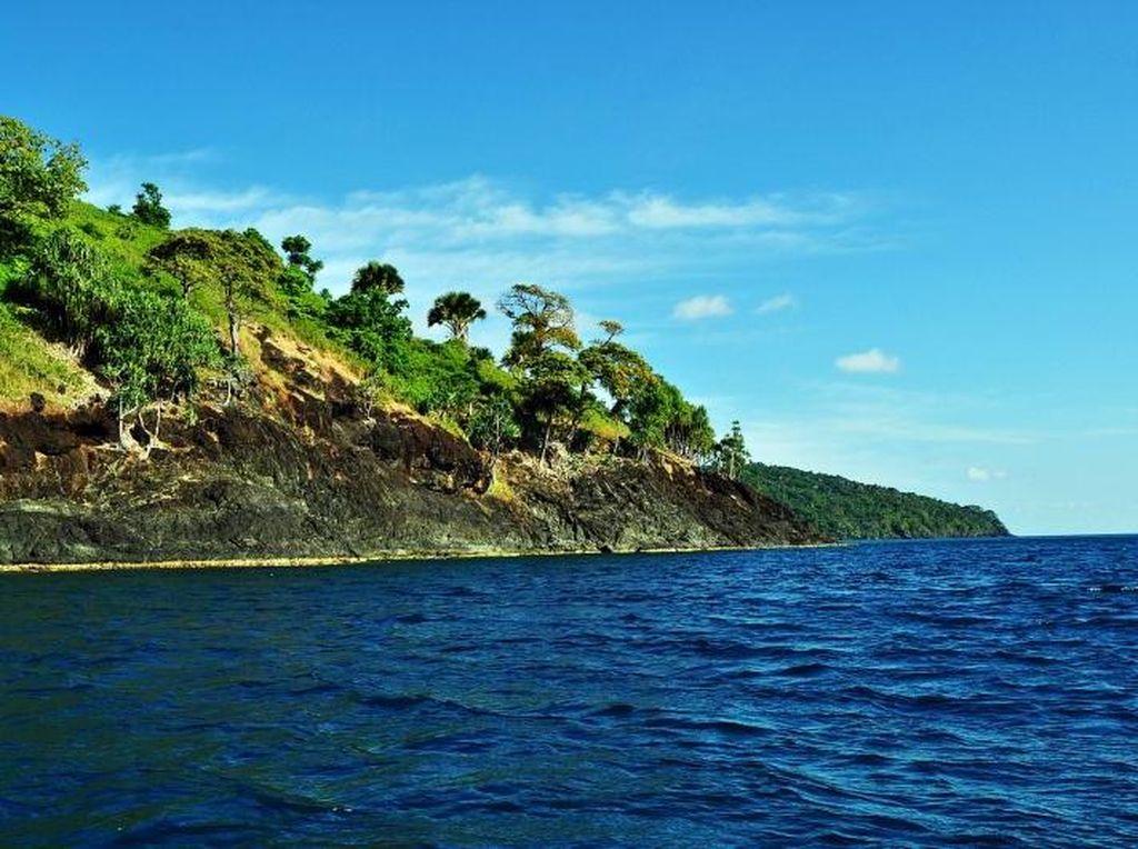 Pulau Matasiri, Perawan Cantik dari Kalimantan Selatan