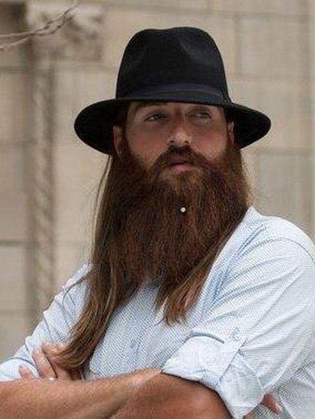 foto perubahan drastis pria pria yang cukur bersih