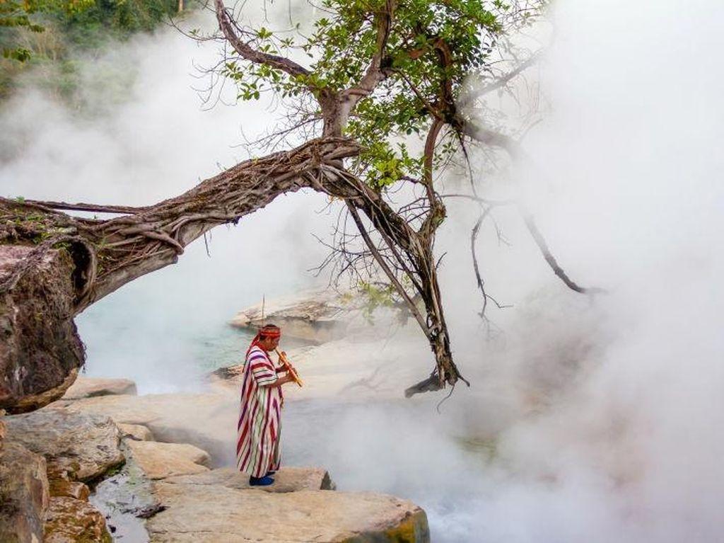 Awas! Sungai di Amazon Ini Mendidih