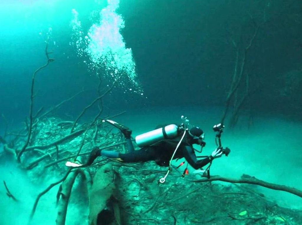 Keajaiban Sungai di Dalam Air dari Meksiko