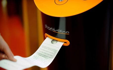 Vending Machine Unik di Prancis, Isinya Cerpen