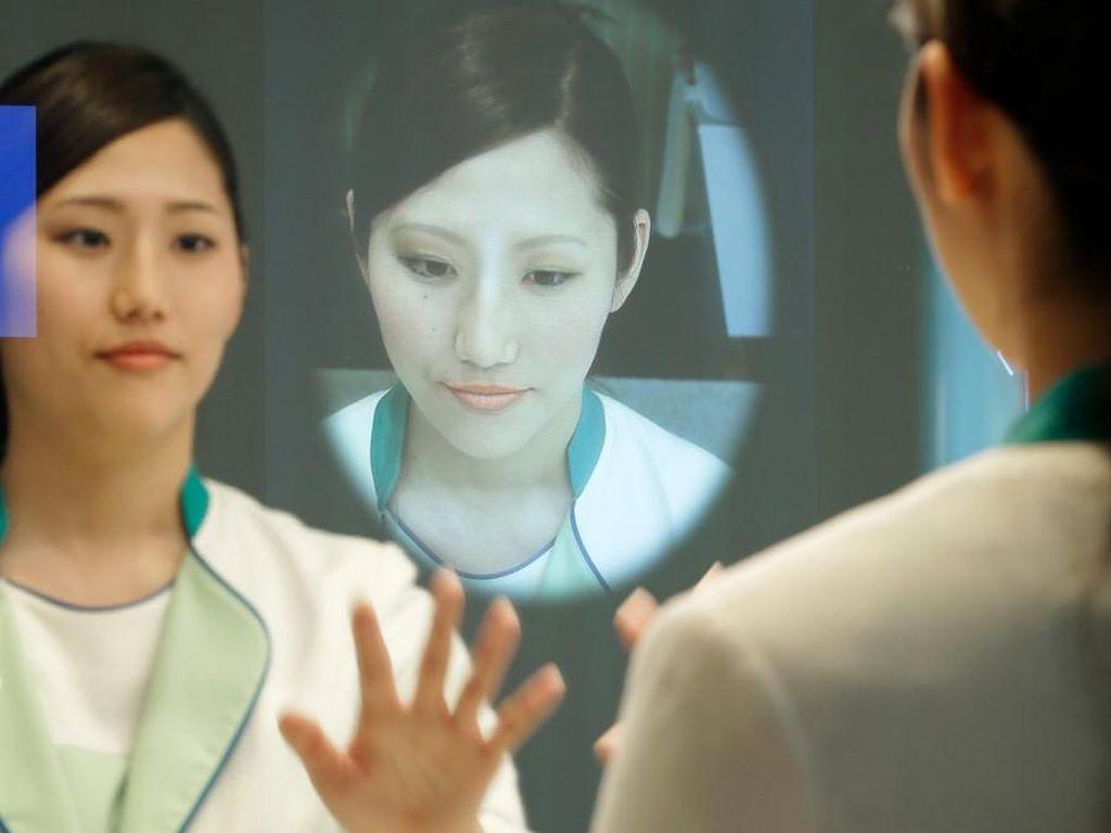 Cermin Pintar, Bisa Deteksi Masalah Kulit pada Wajah Saat Berkaca
