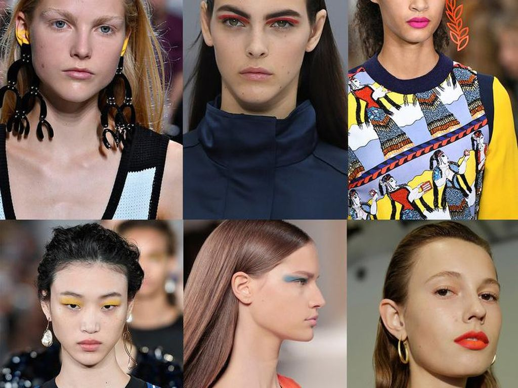 5 Tren Kecantikan Dari Pekan Mode Dunia
