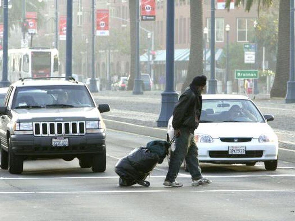 Potret Gelandangan di Balik Gemerlap San Francisco