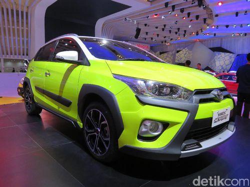 November, Toyota Luncurkan Yaris Heykers