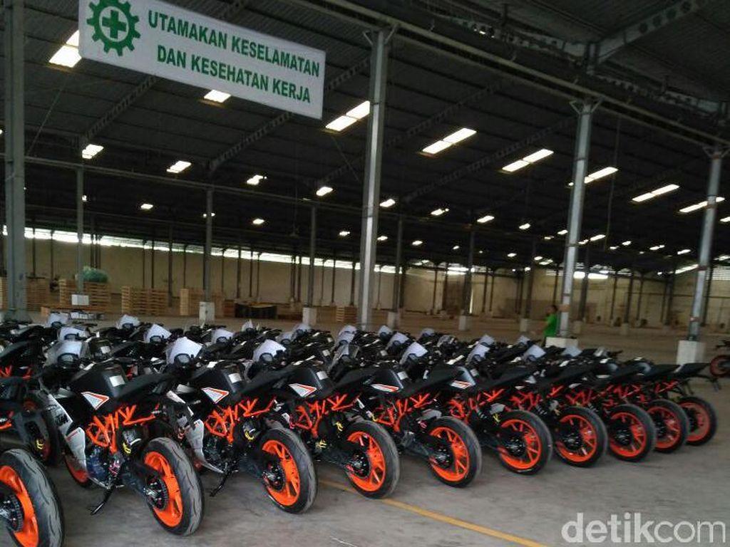KTM Mulai Kirim Motor ke Diler KTM di Jakarta, Serpong dan Bandung
