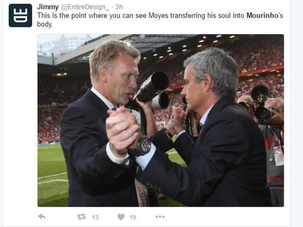 MU Dihajar Chelsea, Mourinho Jadi Bulan-bulanan
