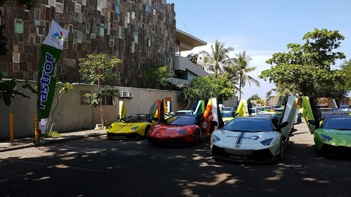 Pertamina Lubricants Dukung Touring Mobil Sport di Bali