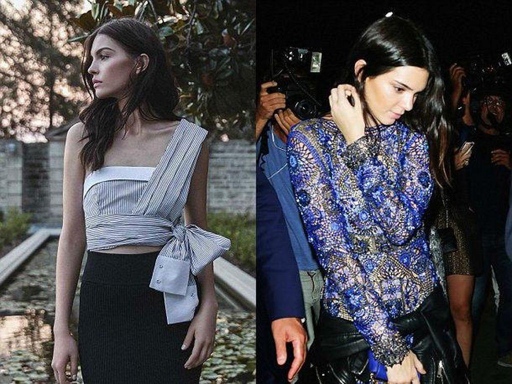 Foto: Kecantikan Kate, Model Rusia Kembaran Kendall Jenner