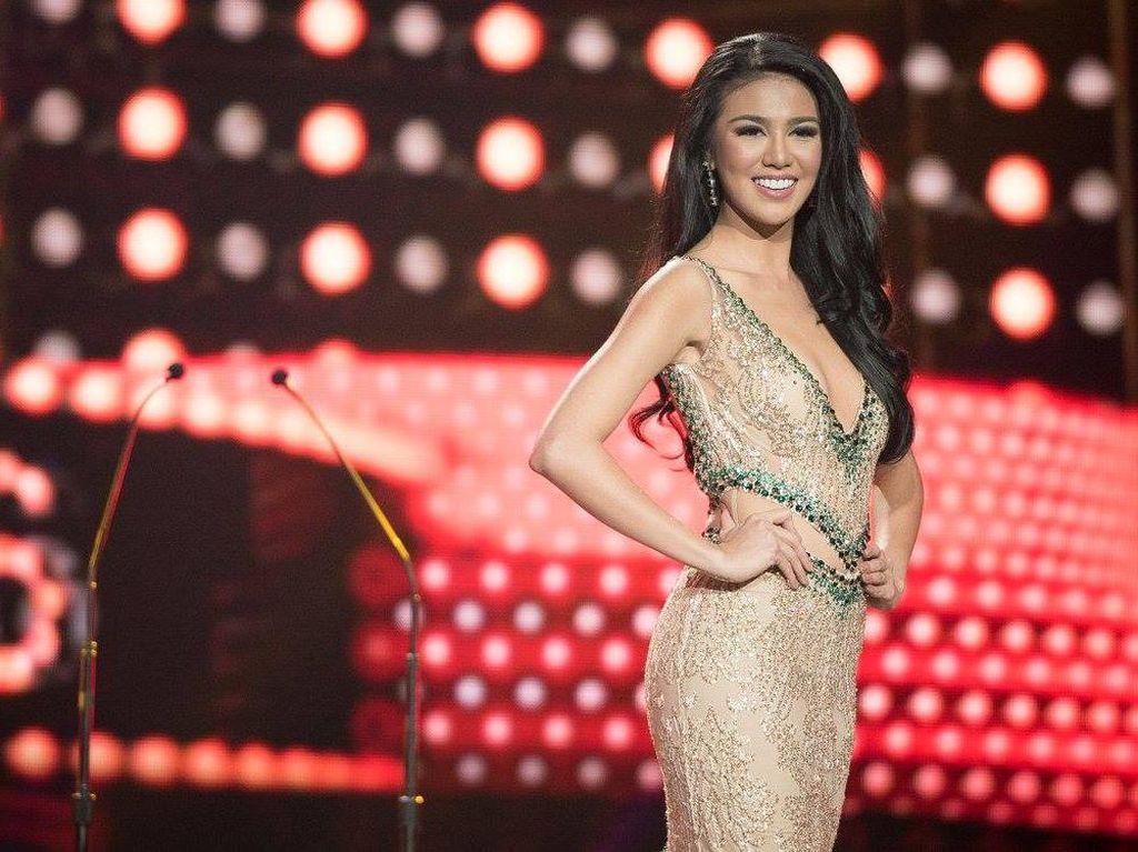 Ariska Juara Miss Grand International 2016, Elvira Devinamira Menangis Haru