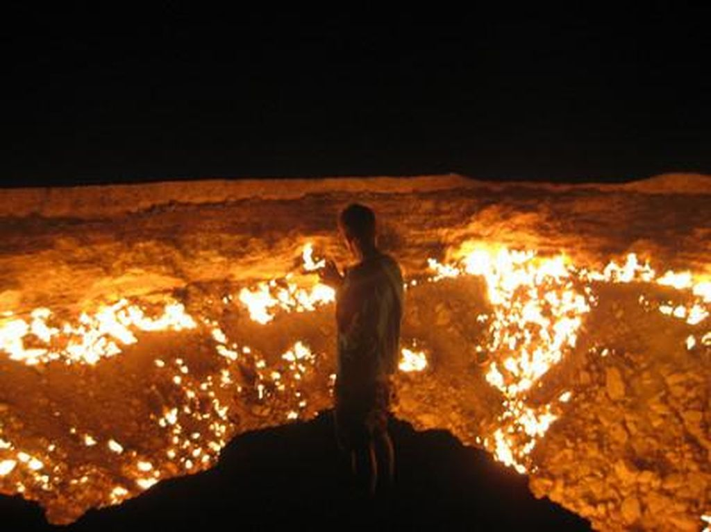 Ngeri! Ada Pintu Neraka di Turkmenistan