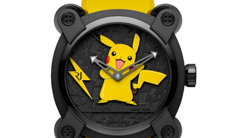 Hanya Ada 20, Jam Tangan Pikachu Ini Dijual Seharga Rp 260 Juta, Tertarik?