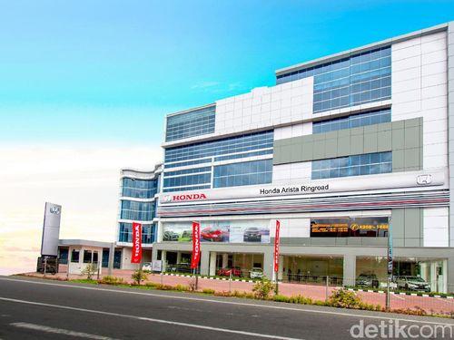Honda Bangun Diler ke-4 di Medan