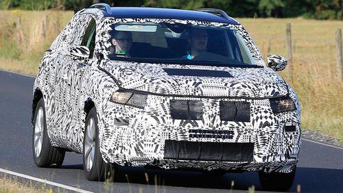 Volkswagen Mulai Uji Polo SUV?