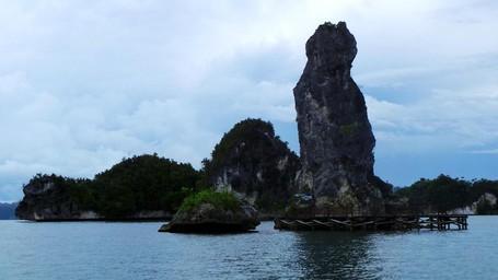 Batu Pensil, Ikon Unik Teluk Kabui Di Raja Ampat