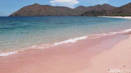 Jangan Bilang Siapa-siapa, Ini Satu Lagi Pantai Pink Di Pulau Komodo!