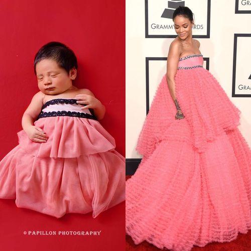 Foto Menggemaskan Bayi Penyanyi Nindy Jadi Katy Perry Hingga Lady Gaga 3