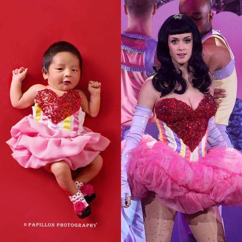 Foto Menggemaskan Bayi Penyanyi Nindy Jadi Katy Perry Hingga Lady Gaga 2